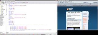 2 Monitores: Edit plus