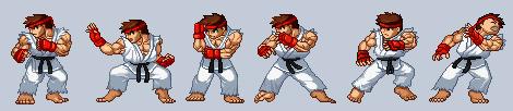 Ryu Sprites
