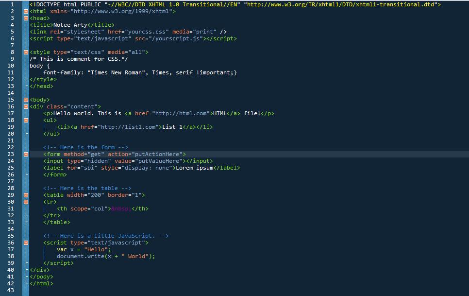 Escrevendo HTML válido